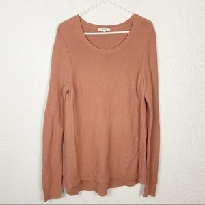 Madewell Cotton Long Knit Sweater Large